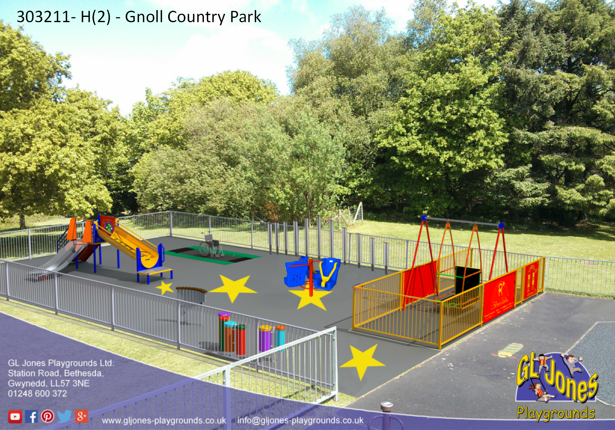 Work Set to Start on New Park at the Gnoll